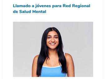 Líder YMCA Cali participa de la Red Regional de Salud Mental