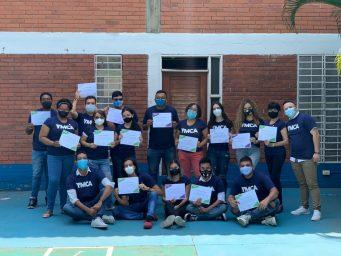 Voluntarios y voluntarias de la YMCA Cali, completan su proceso de formación 2020
